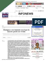CARLOS RIOS Manigua o Ese Instante en El Que La Muerte Puede Ser Vivida - Infonews _ Un Mundo, Muchas Voces