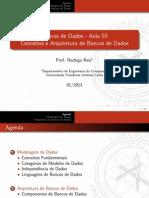 Conceitos e Arquitetura de Bancos de Dados