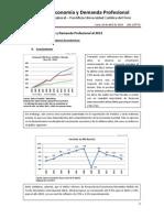 Boletín de Economía y Demanda Profesional - Recuento 2013