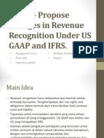 Mintz – Propose Changes in Revenue Recognition Under