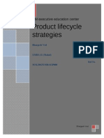 Product Lifecycle Strategies