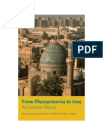 PORTADA E INDICE From Mesopotamia to Iraq a Concise History Hans J Nissen Peter Heine