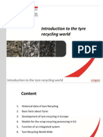 Introduction to the Tyre Recycling World
