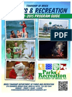 Brick Township Parks and Recreation 2014-2015 Program Guide
