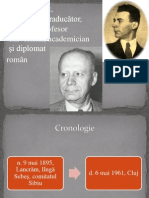 L. Blaga - Activitate literară.pptx