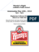 wendys night may 20141