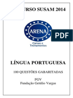 Apostila Portugues - Susam - 100 Questoes Gabaritadas