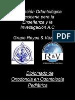 Diplomado en Ortodoncia en Odontología Pediatrica