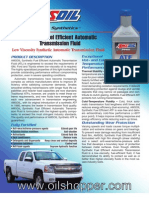 Fuel efficient transmission fluid forsale at www.oilshopper.com
