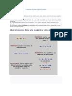 Ecuación+de+primer+grado+simple