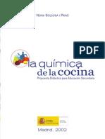 Quimica en La Cocina Dra. Nuria Solsona