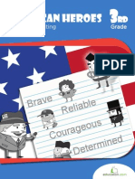 American Heroes Biography Writing Workbook
