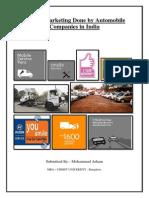 Service Marketing Report