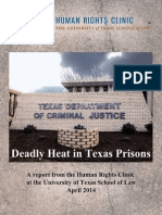 Deadly Heat in Texas Prisons Report