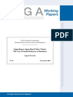Upgrading in Agricultural Value Chains