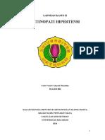 Cp 2 Retinopati Hipertensi