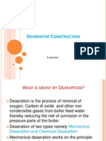 deaerator Construction