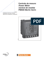 Pm500 Installation and User Manual