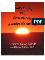 Reality Begins With Consciousness