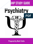 Psychiatry Clerkship Study Guide