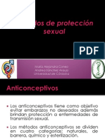 Métodos de Protección Sexual