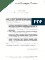Rpta a Declaraciones Dr Vargas Llosa Abril2014