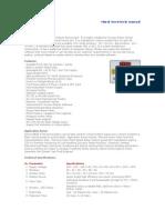 Annunciator MBAS 9700