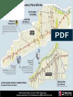 Mapa Vias Exclusivas Con Camaras
