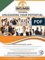 Imsimbi Schedule of Courses January   2014