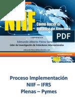 Proceso Implementacion NIIF Diapositivas