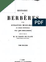 Histoire des Berbères 2/4, par Ibn Khaldoun