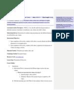 starburst volume lesson plan gr 8 pdf