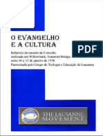 O Evangelho e a Cultura - Relatorio Willowbank