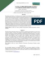 INDUBIO PRONATURA EN FAVOR DE RECURSOS NATURALES