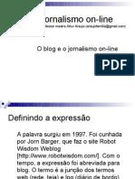 O blog como gênero jornalístico