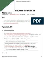 How to Install Apache Server on Windows _ Ricocheting