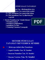 Pemuliaan Tan Menyerbuk Sendiri-2