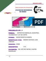 1er Trabajo de Geostadistica(Monografia).