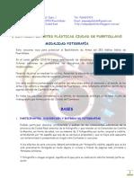 Bases Certamen Artes Plásticas_Fotografía