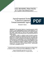 Silvopastoral Systems