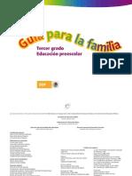 Guía para la familia. Tercer grado. Educación Preescolar