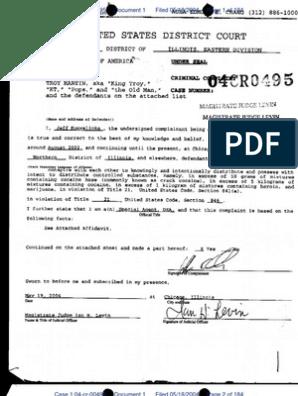 Troy Martin Mafia Insane Vice Lords Indictment   Criminal