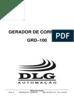 GRD–100 - Gerador de Corrente