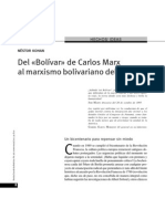 Nestor Kohan - Del Bolívar de Marx Al Marxismo Bolivariano