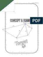 Concept & Formulae