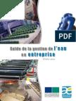 Guide Regional de l Eau en Entreprise