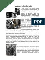 Genocidio y Holocausto Del Pueblo Judio 2014