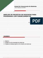Analise de Projetos Para Programas de Financiamento Marcilio Augusto Neves