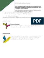 Unidad 1. Introducción a Los Sistemas Operativos