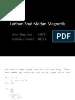 Soal-soal medan magnetik dan penyelesaian